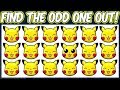 Pokemon Shuffle - Find The Odd Pokemon Out Quiz   Spot The Difference Pokemon Shuffle Puzzles