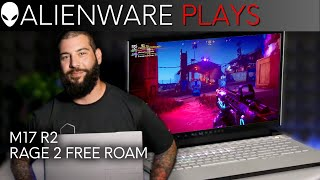 """YouTube Video np5EbBvj4Mc for Product Dell Alienware m17 R2 17.3"""" Gaming Laptop by Company Dell in Industry Computers"""