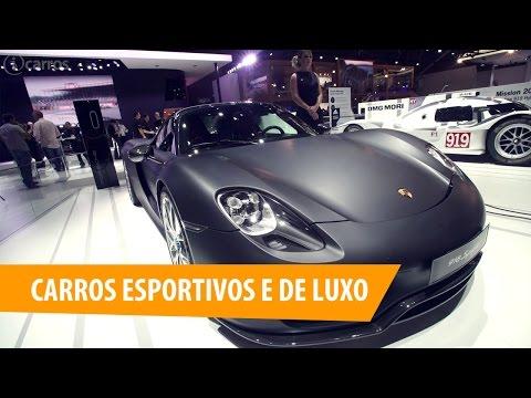Salão do Automóvel de São Paulo: carros esportivos e de luxo