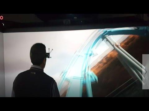 חדרי תלת מימד במציאות מדומה ורבודה
