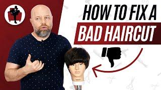 Stylist Fixes a Bad Haircut - TheSalonGuy