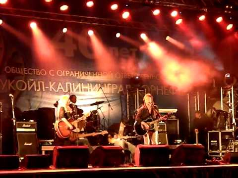 Крис Норман в Калининграде -  Stumblin' In