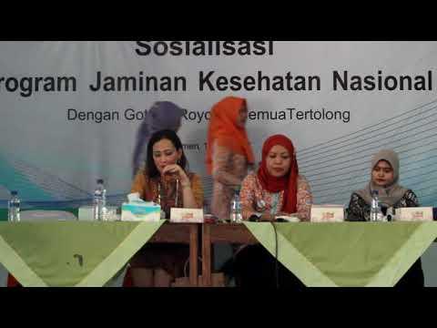 Amelia Anggraini - Penyuluhan BPJS ketenagakerjaan di Kecamatan Ayah