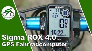 Sigma ROX 4.0 Test - Bedienung & Sigma Ride App - kurz & knackig
