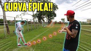 2131da84306aa Gol OlÍmpico No Campo De Futebol Profissional!! Curvas épicas
