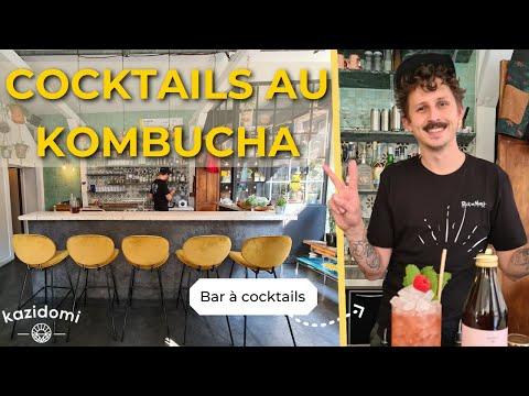 Cocktails et Mocktails à base de Kombucha bio