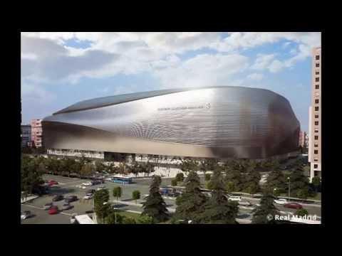 Новый стадион Сантьяго Бернабеу 2017 (Ре
