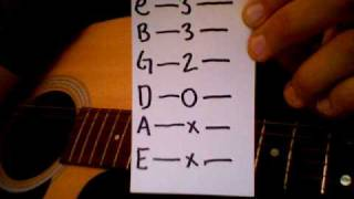 How to play A Littles Enough by Angels and Airwaves acoustic cover