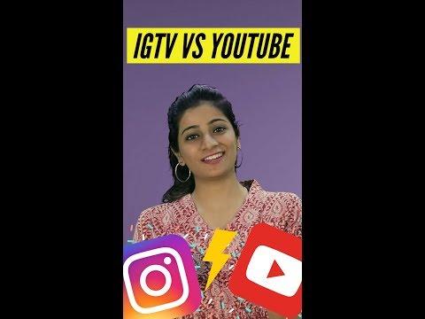 IGTV from Instagram VS YouTube