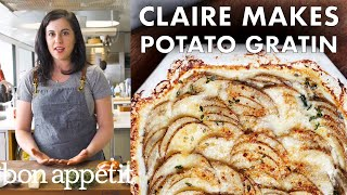 Claire Makes Potato Gratin | Bon Appétit
