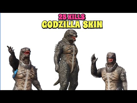 New Godzilla Suit Gameplay | PUBG Mobile | 25 Kills Solo vs Squad!