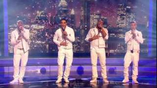 "The X Factor - The Quarter Final Act 2 (Song 2) - JLS | ""You Light Up My Life"""