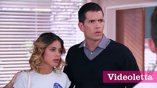 Violetta 3 English: Vilu thinks that Ludmila pushed her down the stairs Ep.67