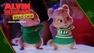 "Alvin and the Chipmunks: The Road Chip | ""Wreck the Halls"" Lyric Video [HD] 