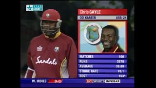 Chris Gayle 132 Not Out v England Natwest Series 2004 @ Lords