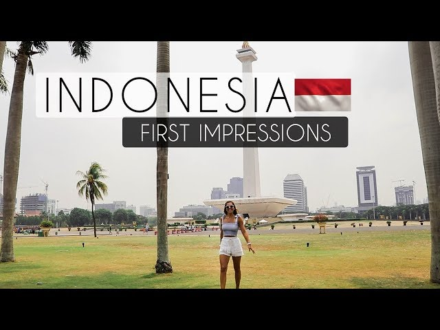 First Time in INDONESIA  - FIRST IMPRESSIONS of INDONESIA