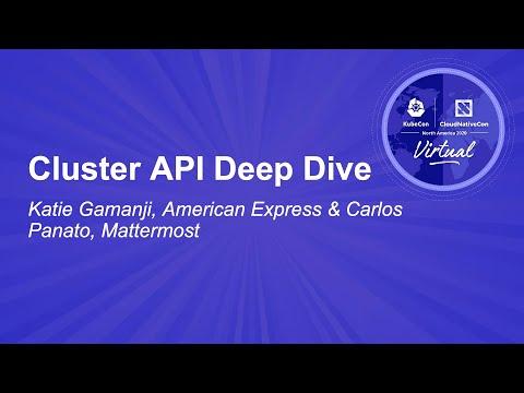 Image thumbnail for talk Cluster API Deep Dive