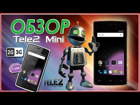 📱 Сверхдешевый смартфон Tele2 Mini - обзор, описания, тесты .