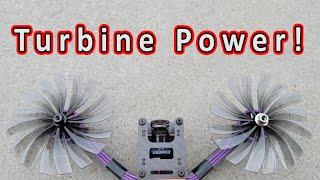 Turbine Powered FPV Kwad (8-bladed HQprop D89mm)