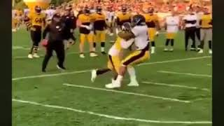 Devin Bush vs Benny Snell... Rookie NFL battle