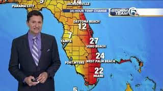 South Florida Tuesday morning forecast (1/22/18)