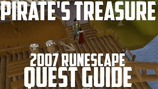 2007 Runescape Quest Guide: Pirate's Treasure