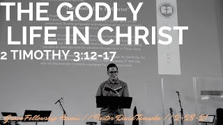 """(Live) """"The Godly Life in Christ"""" 2 Timothy 5:12-17 // Sunday, 2.28.21"""