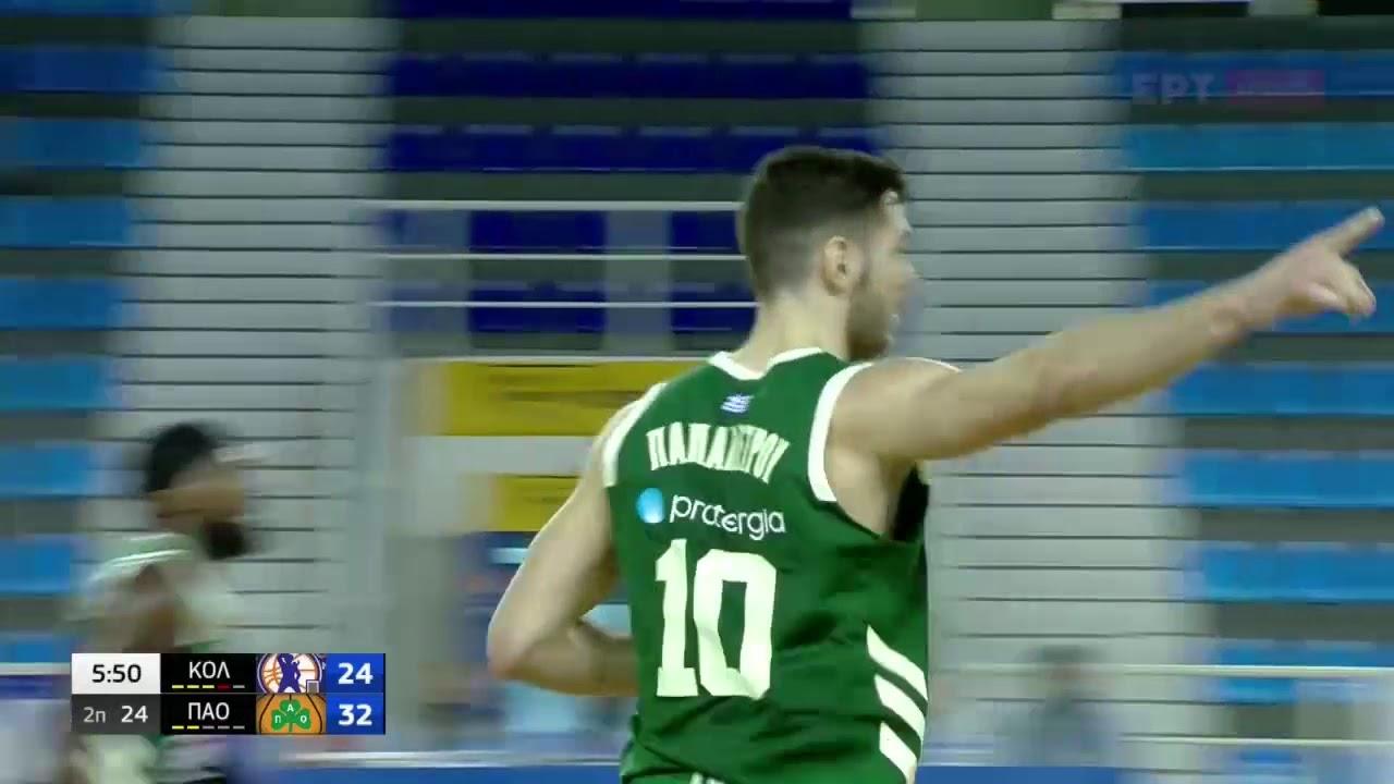 Basket League | Κολοσσός-Παναθηναϊκός: Τα τρίποντα του ΠΑΟ στη Ρόδο | 07/03/2021 | ΕΡΤ