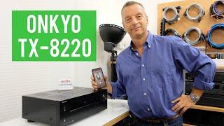 Onkyo TX 8220 - Sintoamplificatore stereo ECONOMICO e BEN SUONANTE