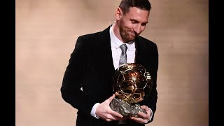 Highlights of the 2019 Ballon d'Or as Barcelona forward Lionel Messi,