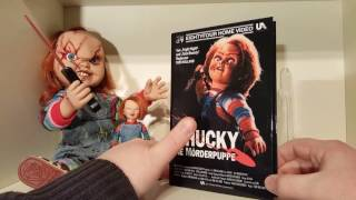 Unboxing: 84' Entertainment Hartbox DVD zu CHUCKY DIE MÖRDERPUPPE Limited 150 St. Edition Cover A