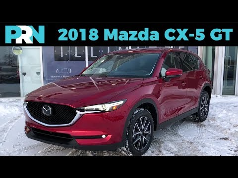 What's New for 2018? | 2018 Mazda CX-5 GT + Tech | TestDrive Snapshot