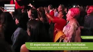 bf9fda6136 Lo de anoche en el Enjoy del Mar había sido un show de los que acostumbra a  hacer Franco Simone. Una mixtura por sus éxitos de siempre, canciones  nuevas y ...