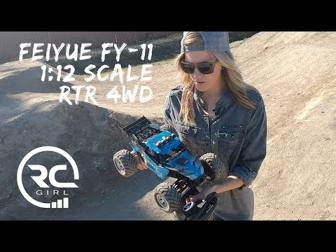 REVIEW & RUN  |  Feiyue FY-11 1/12 Scale RTR RC Car