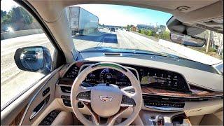 2021 Cadillac Escalade Super Cruise POV Test Drive (3D Audio)(ASMR)