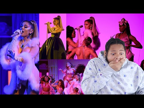 """ARIANA GRANDE x LIVE AT THE 2020 GRAMMYS """"IMAGINE, 7 RINGS, THANK U, NEXT"""" 