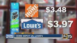 Home Depot vs. Lowe's