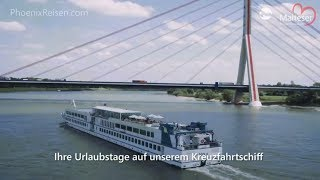 MS Viola: Schiffsrundgang - Das barrierefreie Flussschiff