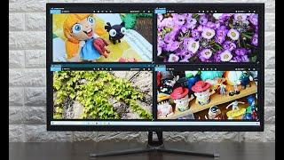 크로스오버 32UR3 UHD 리얼 4K HDR 무결점_동영상_이미지