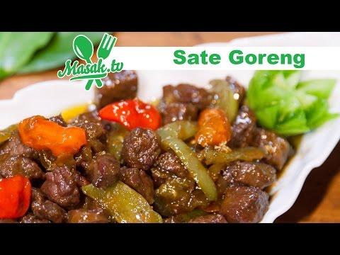 Video Sate Goreng Daging Sapi