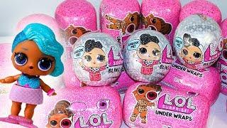 НОВОГОДНИЕ КУКЛЫ ЛОЛ Bling Series Редкая Куколка и КОНКУРС! Игрушки для детей #LOL Surprise Dolls