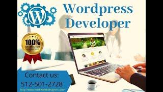 Wordpress Developer Austin - (512-501-2728)