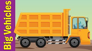 Learn Construction Vehicles | Vocabulary for Kids | Fun Kids English