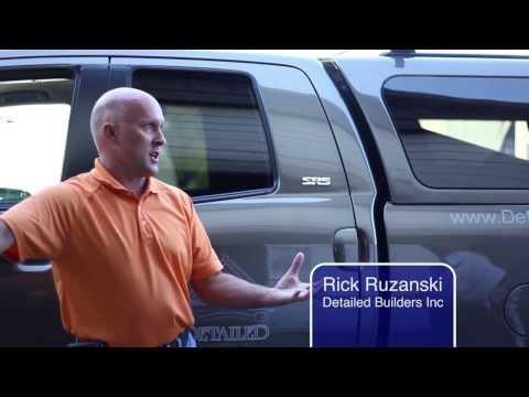 Rick Ruzanski of Detailed Builders Inc | Review of RainDrop Gutter Guards