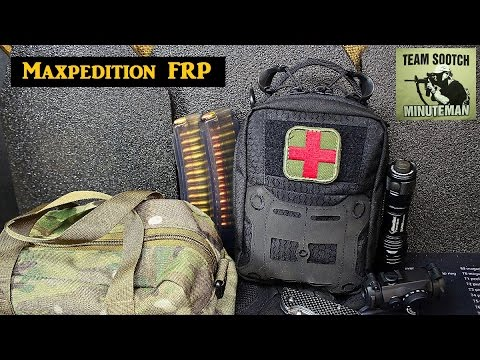 New Maxpedition FRP IFAK Pouch Review