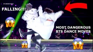 MOST DANGEROUS BTS Dance Moves  *BTS making Armies nerve racking for 11 minutes*
