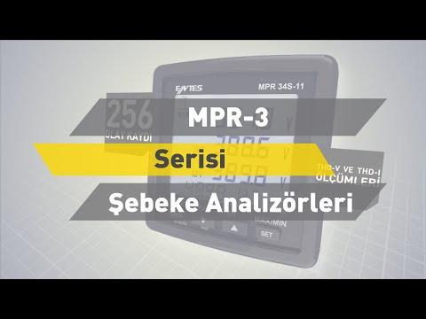 ENTES MPR-3 Serisi Şebeke Analizörleri