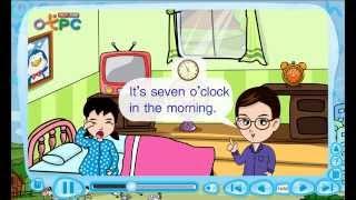 สื่อการเรียนการสอน Daily routine ป.3 ภาษาอังกฤษ