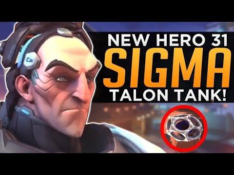 Overwatch: NEW Hero 31 Sigma - Talon Gravity Tank