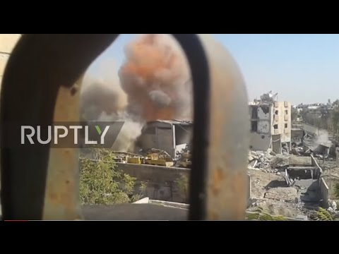 Syrian Arab Army foils al-Nusra attack in Damascus' Jobar, over 2 dozen of sewer rats erased